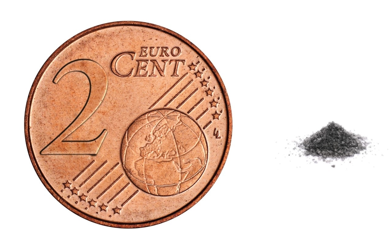 Occupational exposure limits for dust are as low as a pinch of salt or the weight of a 2 cent coin