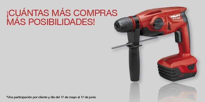 Martillo Perforador Hilti Sorteo