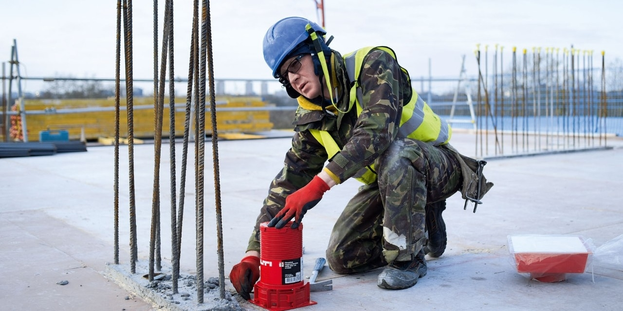 Hilti firestop Cast-in Device CFS-CID