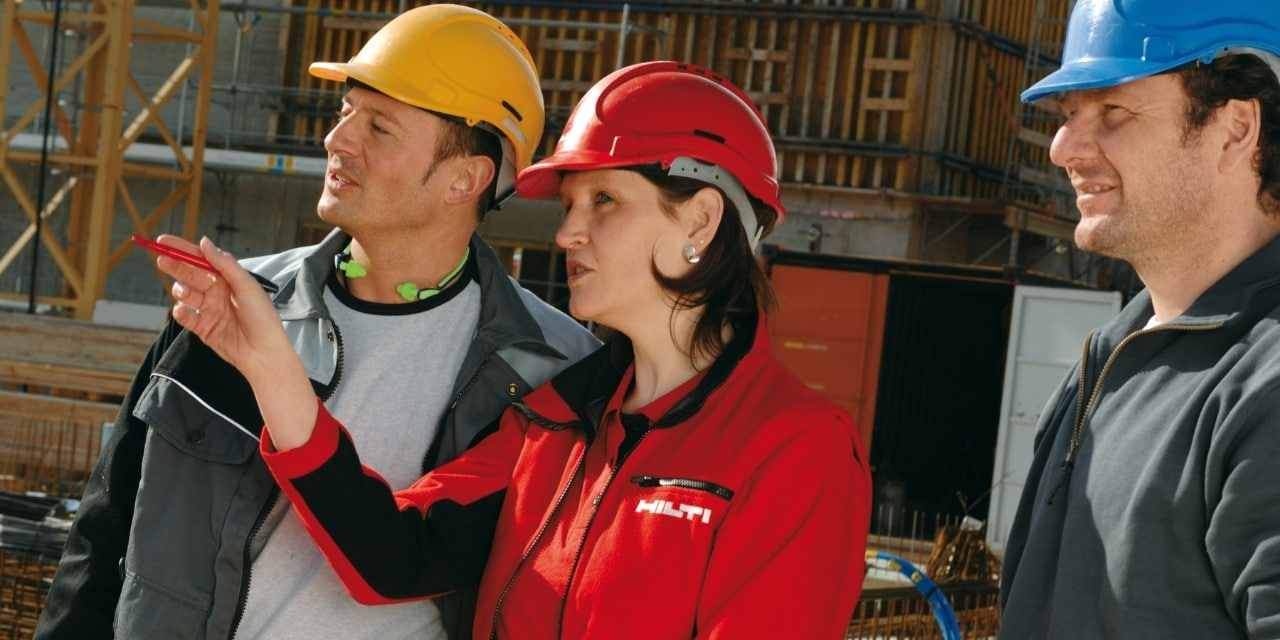 Hilti field engineers