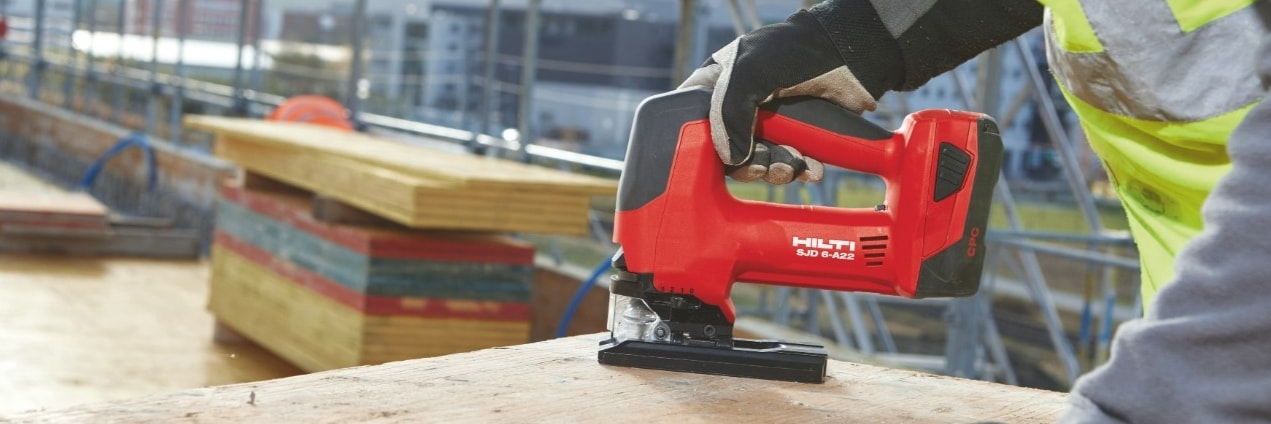 Hilti SJD 6-A22 and SJT 6-A22 cordless jigsaws